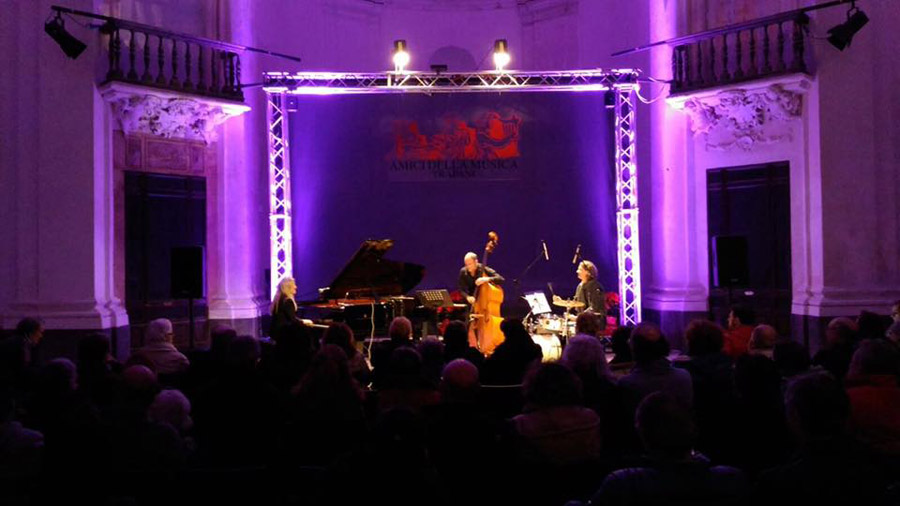 Concert Anke Helfrich Trio in Trapani/Sicily